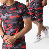 /achat-ensembles-survetement/john-h-ensemble-tee-shirt-et-short-tp801-camouflage-noir-gris-rouge-183473.html