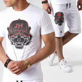 /achat-ensembles-survetement/john-h-ensemble-tee-shirt-et-short-a-strass-tp812-blanc-noir-gris-rouge-183476.html
