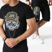 /achat-ensembles-survetement/john-h-ensemble-tee-shirt-et-short-a-strass-tp812-noir-jaune-argente-183477.html