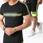 /achat-ensembles-survetement/john-h-ensemble-tee-shirt-et-short-a-bandes-avec-strass-es11-noir-jaune-fluo-183499.html