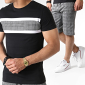 /achat-ensembles-survetement/john-h-ensemble-tee-shirt-et-short-a-carreaux-es07-noir-blanc-183504.html