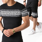 /achat-ensembles-survetement/john-h-ensemble-tee-shirt-et-short-a-strass-es03-noir-blanc-183509.html