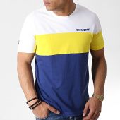 /achat-t-shirts/le-coq-sportif-tee-shirt-ess-saison-n1-bleu-marine-jaune-blanc-183501.html