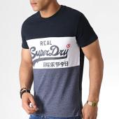 /achat-t-shirts/superdry-tee-shirt-vintage-logo-panel-m10158su-bleu-marine-gris-chine-183622.html