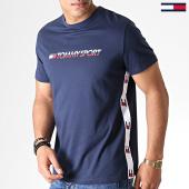 /achat-t-shirts/tommy-sport-tee-shirt-de-sport-tape-0108-bleu-marine-183591.html