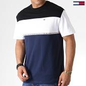 /achat-t-shirts/tommy-hilfiger-jeans-tee-shirt-colorblocked-tape-6861-noir-bleu-marine-blanc-183742.html