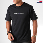 /achat-t-shirts/tommy-jeans-tee-shirt-small-logo-7231-noir-183746.html