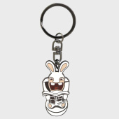 /achat-accessoires-de-mode/lapins-cretins-porte-cles-abykey091-blanc-metal-183833.html