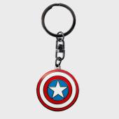 /achat-accessoires-de-mode/captain-america-porte-cles-abykey165-rouge-bleu-blanc-metal-183836.html
