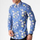 /achat-chemises-manches-longues/mtx-chemise-manches-longues-z226s-bleu-marine-floral-183790.html