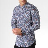 /achat-chemises-manches-longues/mtx-chemise-manches-longues-z230s-bleu-marine-rose-floral-183796.html