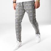 /achat-pantalons-joggings/mtx-pantalon-jogging-a-carreaux-tm0064-gris-jaune-183809.html