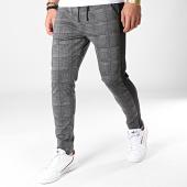 /achat-pantalons-carreaux/mtx-pantalon-a-carreaux-avec-bandes-tm0025-gris-anthracite-noir-183934.html