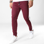 /achat-pantalons-joggings/mtx-pantalon-jogging-a-bandes-tm0052-bordeaux-blanc-183943.html