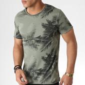 /achat-t-shirts/mtx-tee-shirt-tm0182-vert-kaki-floral-183944.html
