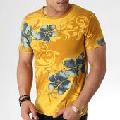 /achat-t-shirts/mtx-tee-shirt-tm0173-jaune-floral-183972.html