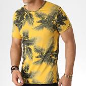 /achat-t-shirts/mtx-tee-shirt-tm0182-jaune-floral-183982.html
