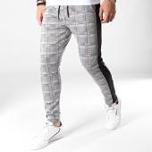 /achat-pantalons-carreaux/mtx-pantalon-a-carreaux-avec-bandes-tm0025-gris-clair-noir-184003.html