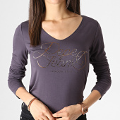 /achat-t-shirts-manches-longues/pepe-jeans-tee-shirt-manches-longues-femme-andy-gris-dore-183778.html