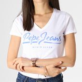 /achat-t-shirts/pepe-jeans-tee-shirt-col-v-femme-andrea-blanc-183783.html