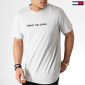 /achat-t-shirts/tommy-hilfiger-jeans-tee-shirt-small-logo-7231-gris-chine-183748.html