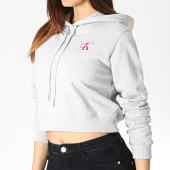 /achat-sweats-capuche/calvin-klein-sweat-capuche-femme-monogram-embroidery-0601-gris-chine-184096.html