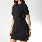 /achat-robes/calvin-klein-robe-tee-shirt-femme-logo-tape-1556-noir-184106.html