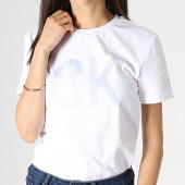 /achat-t-shirts/calvin-klein-tee-shirt-femme-reversed-logo-1873-blanc-184110.html