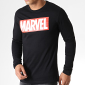 /achat-t-shirts-manches-longues/marvel-tee-shirt-logo-noir-184084.html