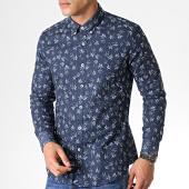 /achat-chemises-manches-longues/mtx-chemise-manches-longues-floral-z222s-bleu-marine-184074.html