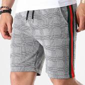 /achat-shorts-jogging/aarhon-short-jogging-a-carreaux-et-bandes-3-19-048g-gris-rouge-vert-184143.html