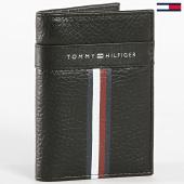 /achat-portefeuilles/tommy-hilfiger-portefeuille-corporate-leather-mini-cc-bifold-4806-noir-184148.html