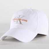 /achat-casquettes-de-baseball/calvin-klein-jeans-casquette-monogram-5691-blanc-argente-184254.html