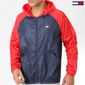 /achat-coupe-vent/tommy-sport-coupe-vent-back-logo-0143-rouge-bleu-marine-184199.html