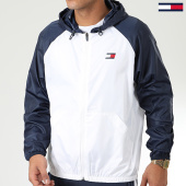 /achat-coupe-vent/tommy-sport-coupe-vent-back-logo-0143-blanc-bleu-marine-184200.html