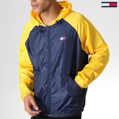 /achat-coupe-vent/tommy-sport-coupe-vent-back-logo-0143-jaune-bleu-marine-184201.html