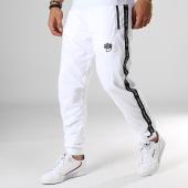 /achat-pantalons-joggings/wrung-pantalon-jogging-a-bandes-delta-blanc-noir-184226.html