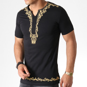 /achat-t-shirts-longs-oversize/ikao-tee-shirt-oversize-f578-noir-dore-184382.html