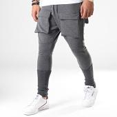 /achat-pantalons-joggings/ikao-pantalon-jogging-f563-gris-anthracite-chine-184374.html