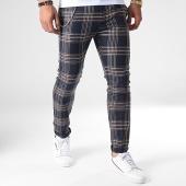 /achat-pantalons-carreaux/ikao-pantalon-carreaux-f575-bleu-marine-marron-beige-184386.html