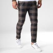 /achat-pantalons-carreaux/ikao-pantalon-carreaux-f575-noir-marron-beige-184387.html