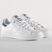 /achat-baskets-basses/adidas-baskets-femme-stan-smith-s74778-footwear-white-eqt-blue-184413.html