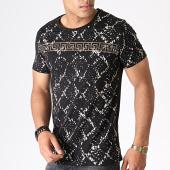 /achat-t-shirts/classic-series-tee-shirt-a-strass-7480-noir-dore-renaissance-184403.html