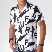 /achat-chemises-manches-courtes/classic-series-chemise-manches-courtes-3384-blanc-noir-184406.html