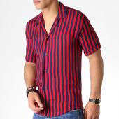 /achat-chemises-manches-courtes/classic-series-chemise-manches-courtes-222471-rouge-bleu-marine-184417.html