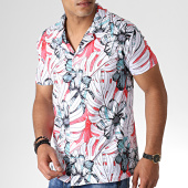 /achat-chemises-manches-courtes/classic-series-chemise-manches-courtes-3379-blanc-rouge-floral-184432.html