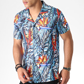 /achat-chemises-manches-courtes/classic-series-chemise-manches-courtes-3380-bleu-clair-blanc-floral-184433.html