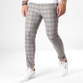 /achat-pantalons-carreaux/mackten-pantalon-carreaux-28042-gris-rouge-184441.html