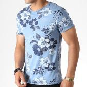/achat-t-shirts/mtx-tee-shirt-floral-tm0203-bleu-clair-bleu-marine-184488.html