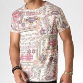 /achat-t-shirts/mtx-tee-shirt-bandana-zt5055-ecru-rose-184515.html